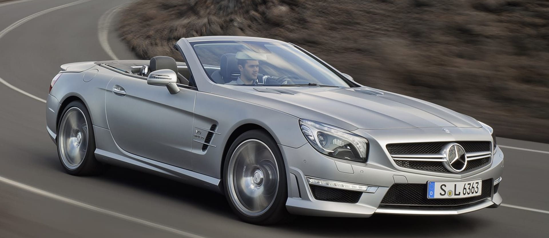 Mercedes-AMG SL 63 review test drive