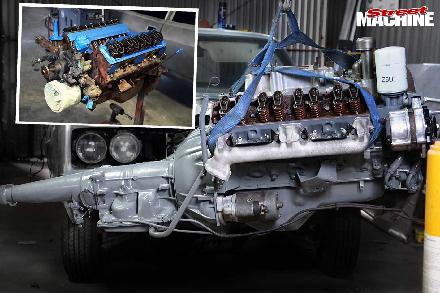engine bay overhaul