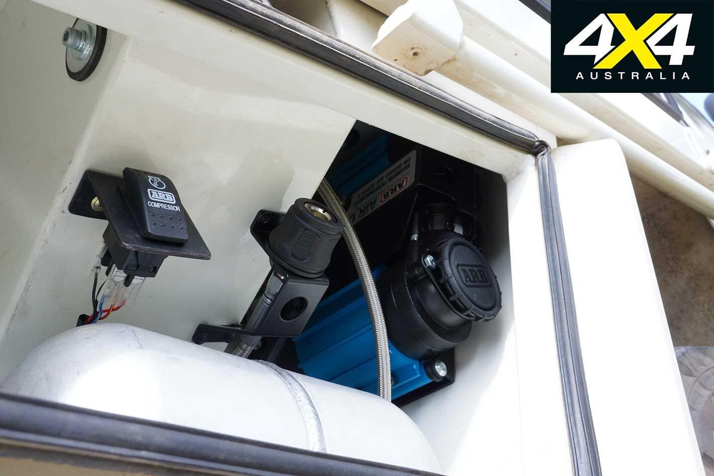 2013 Toyota Land Cruiser 79 Series ARB Compressor Jpg