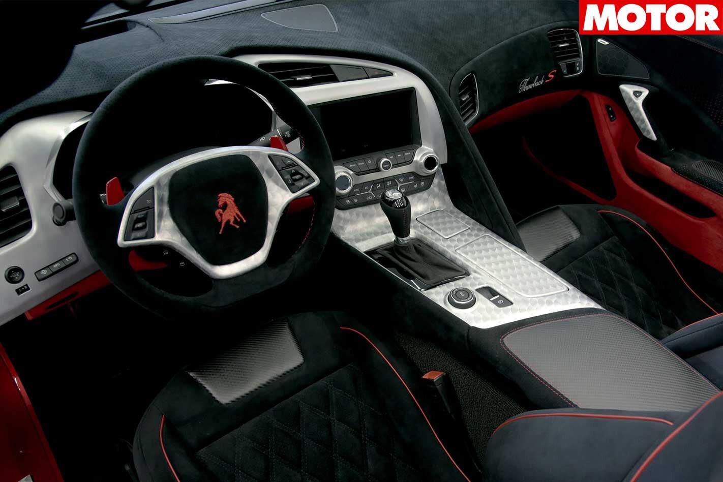 Equus Throwback Corvette Interior Jpg