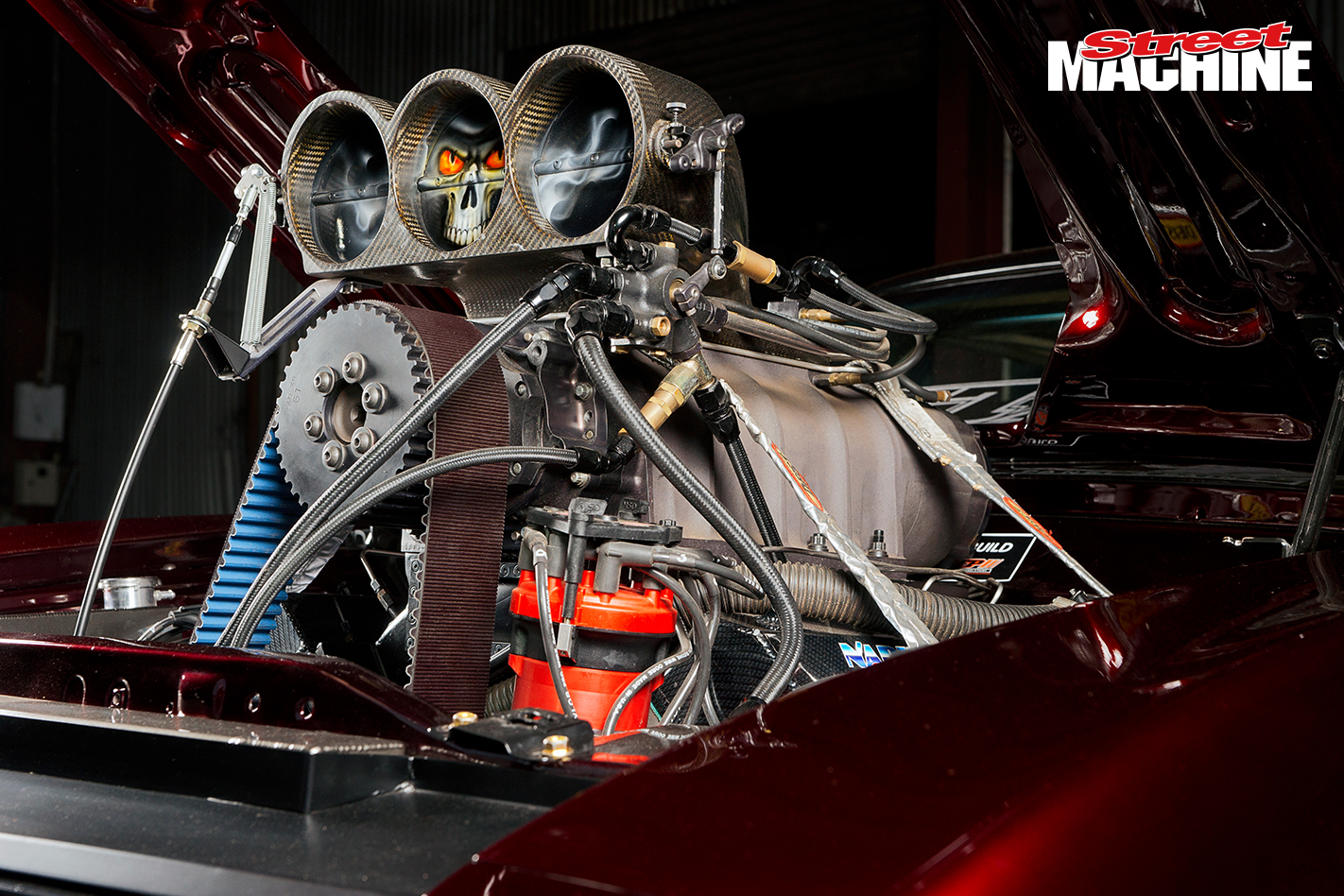 XC Falcon Coupe Blown DVLXC Engine 1