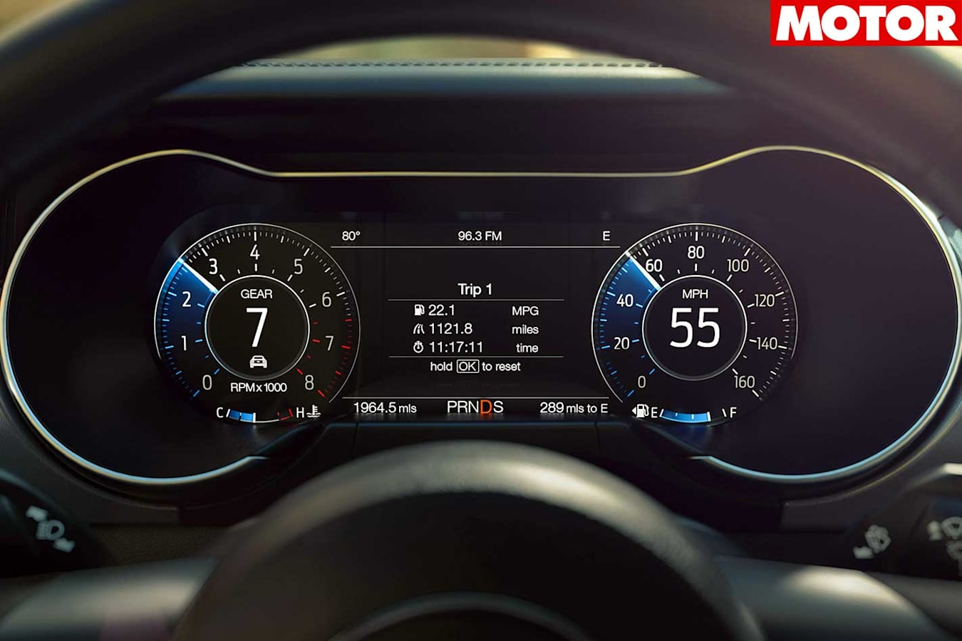 2018 Ford Mustang Pricing And Specs Instrument Cluster Jpg