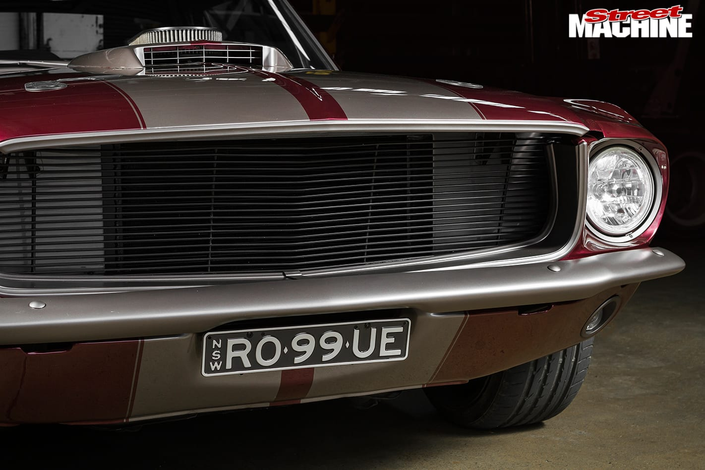 Ford -Mustang -front -detail