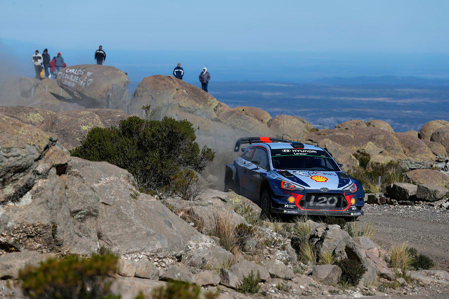 Nouvelle wins Rally Argentina Hyundai