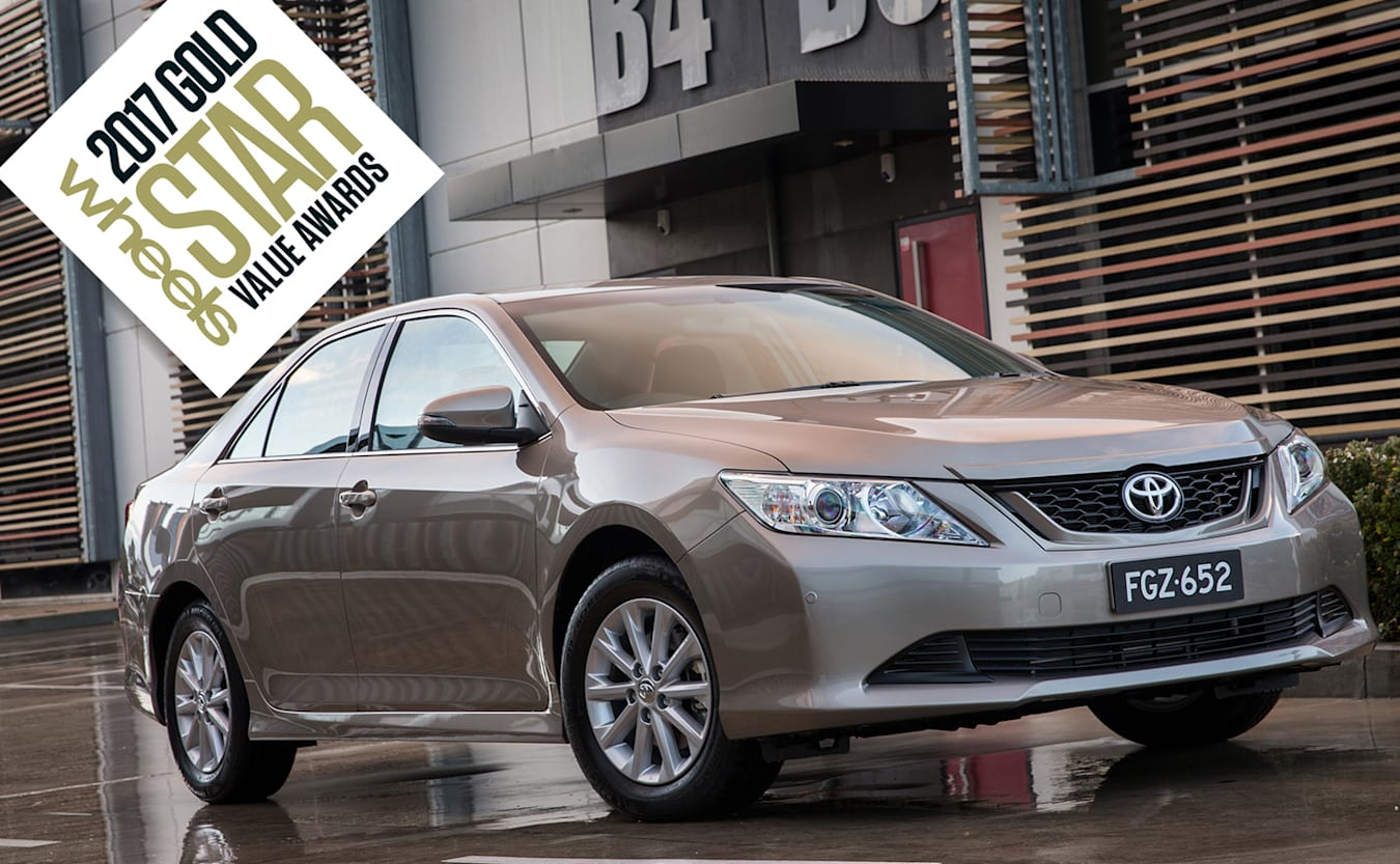 best large car toyota camry