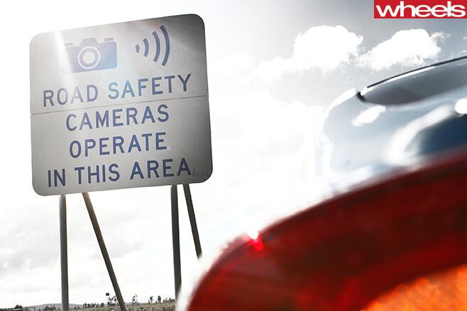 Road -safety -cameras -sign -Melbourne