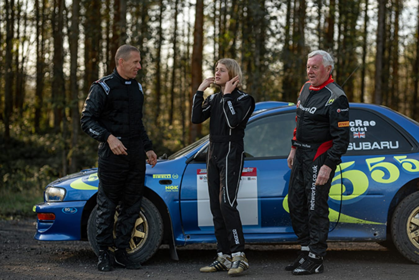 McRae family rally drivers
