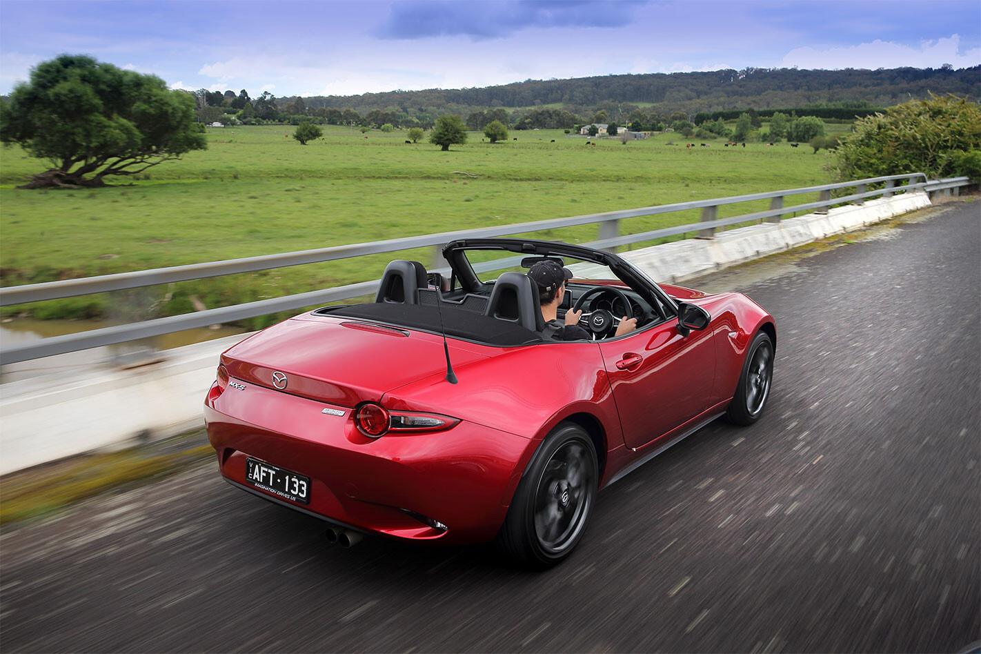 Mazda -MX-5-2.0-litre -rear