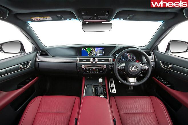 Lexus -gs 200t -interior