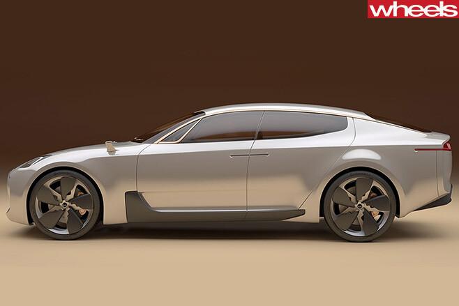 Kia -GT-Concept -sedan