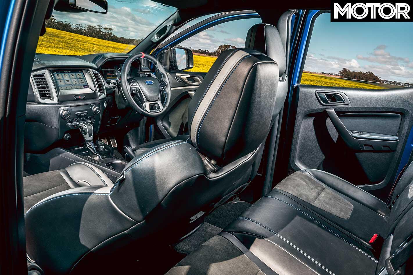2018 Ford Ranger Raptor Interior Jpg