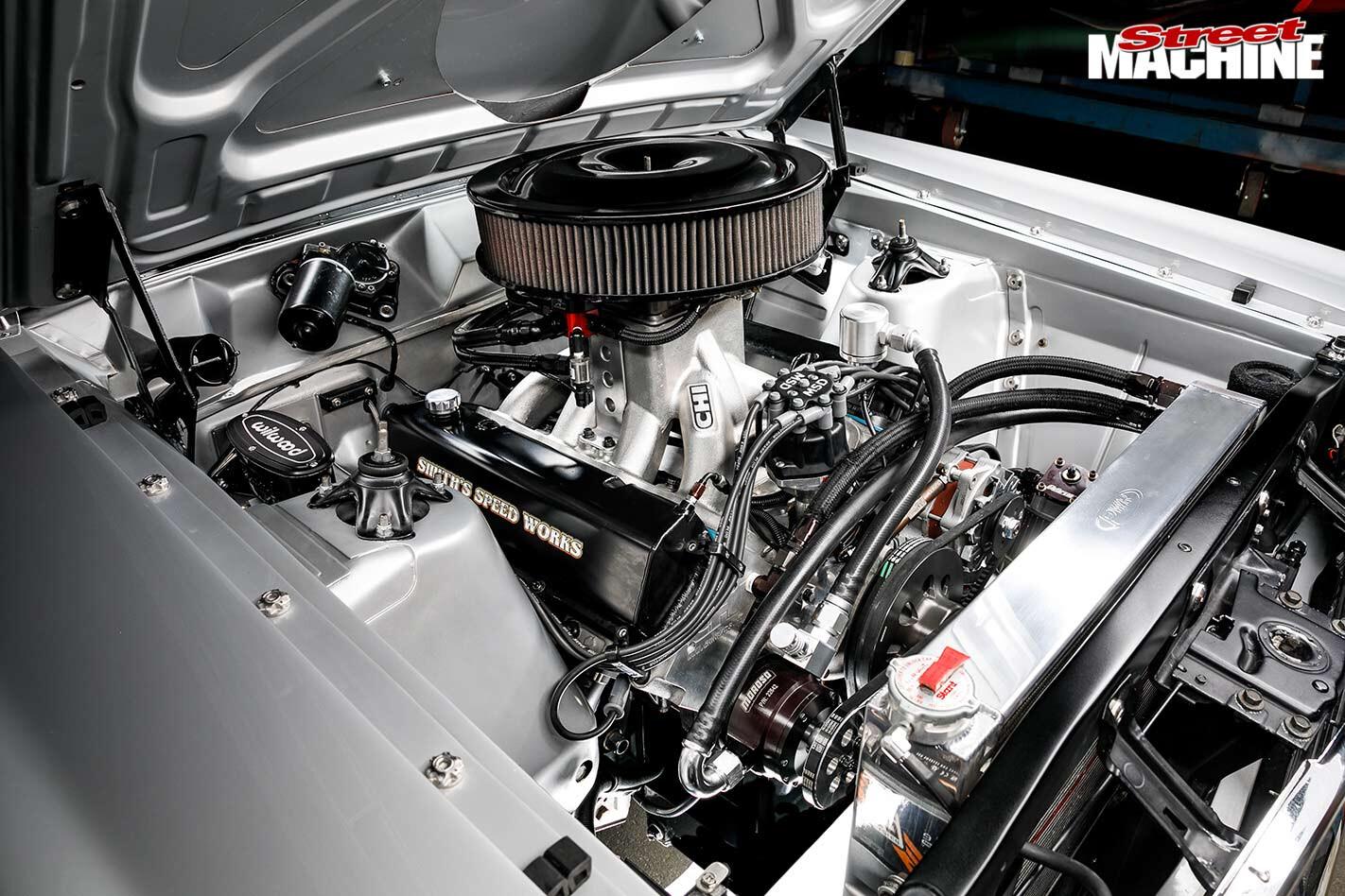Ford Falcon XT engine bay
