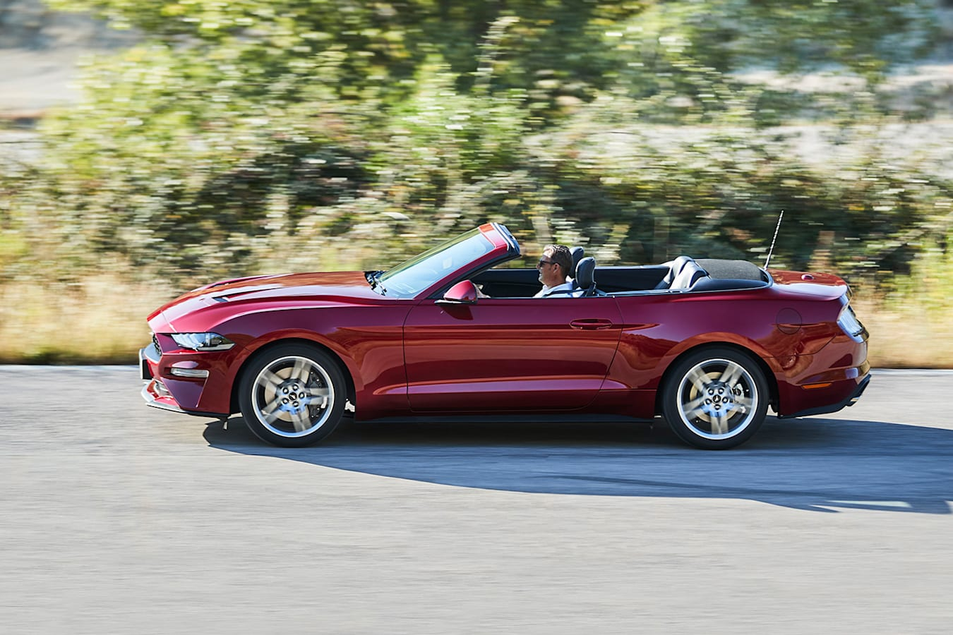Ford Mustang Convertible Side Jpg
