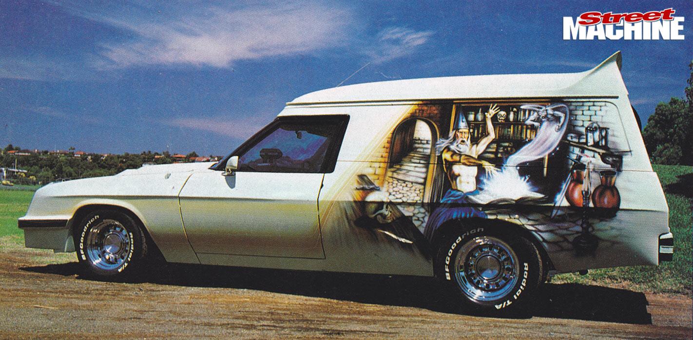 The Wizard panel van