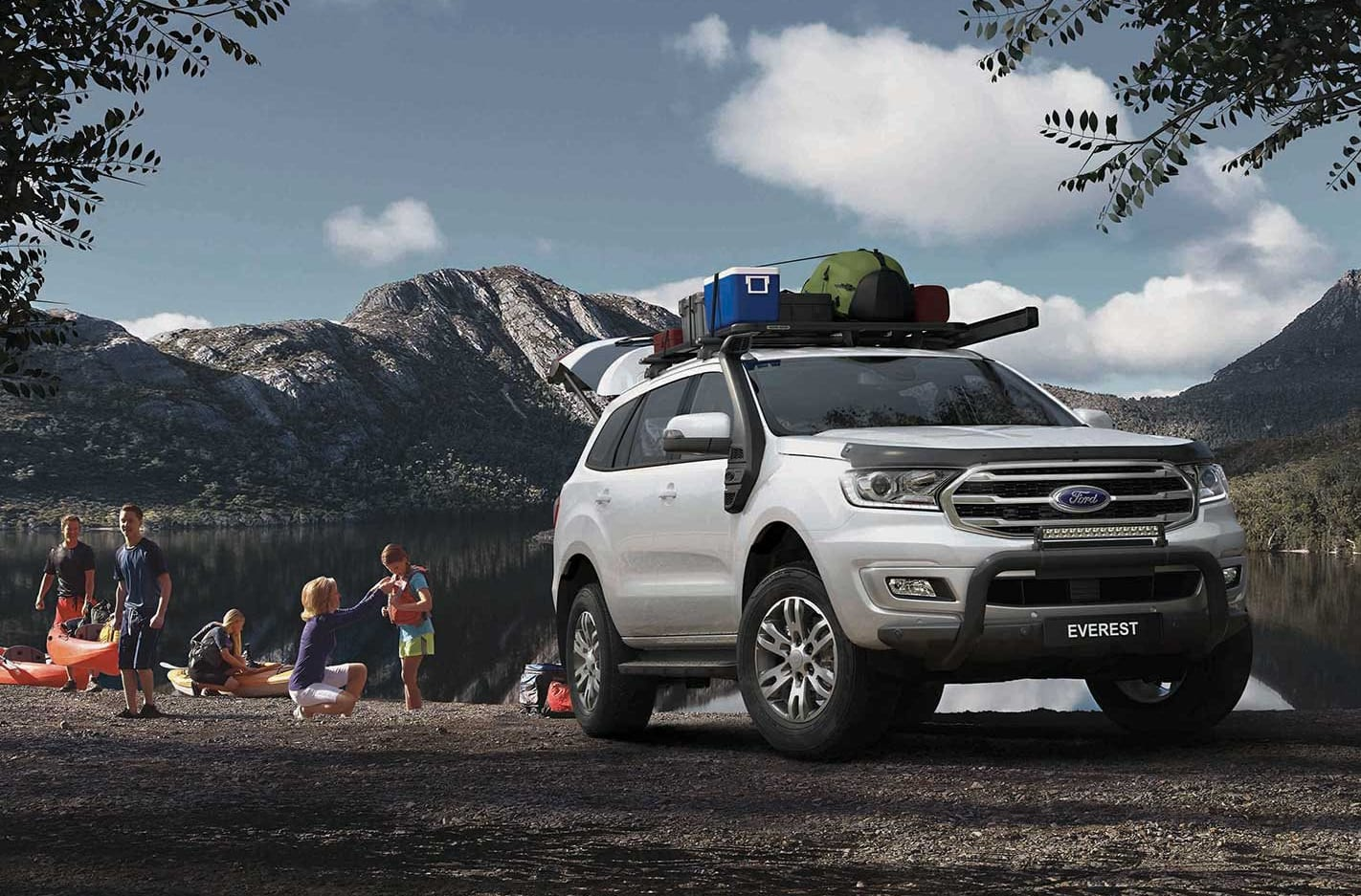 BaseCamp Accessories Pack Ford Everest