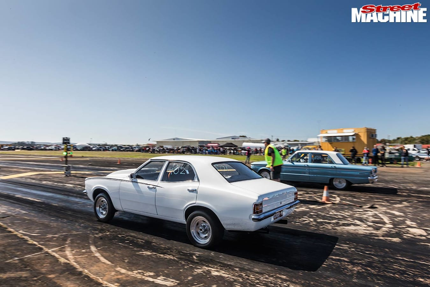 blown Ford Cortina
