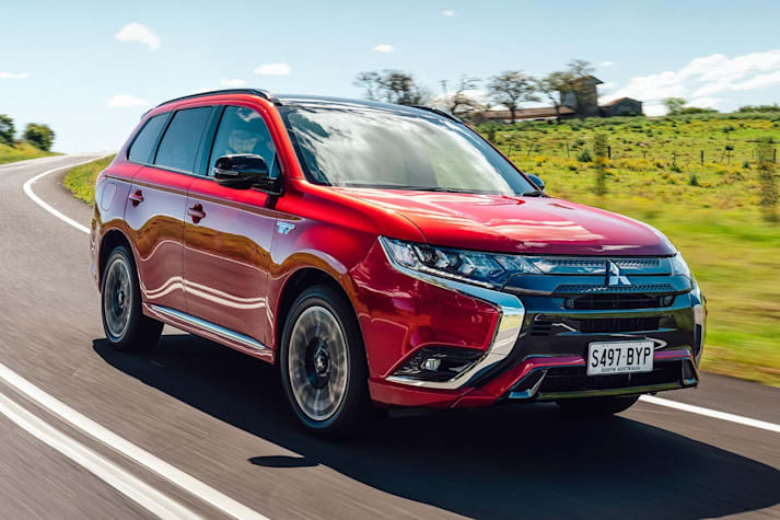 Mitsubishi Outlander PHEV GSR review