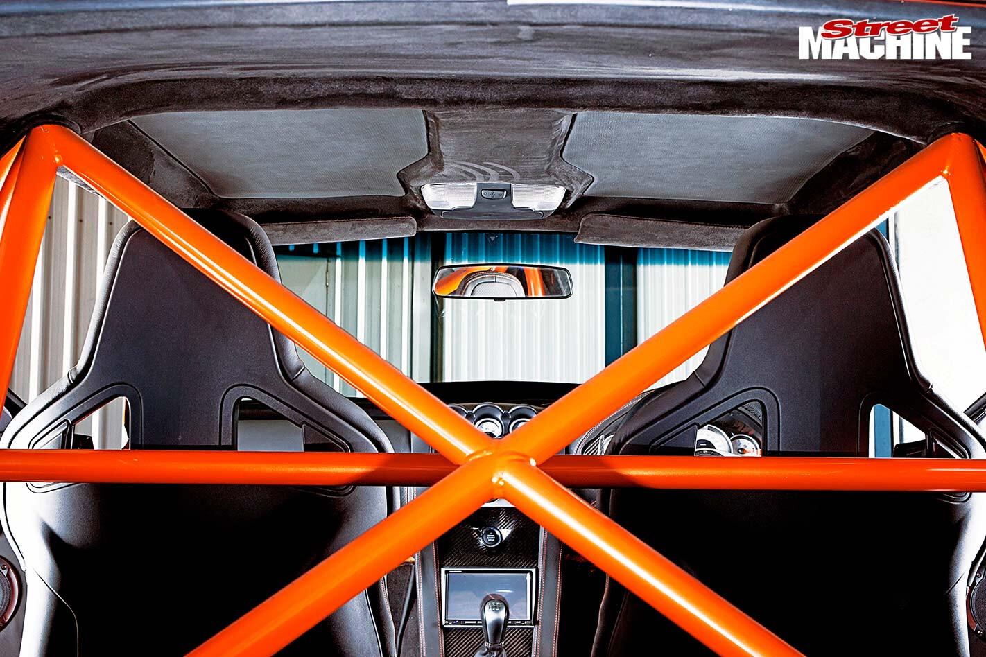 Holden Torana A9X replica interior