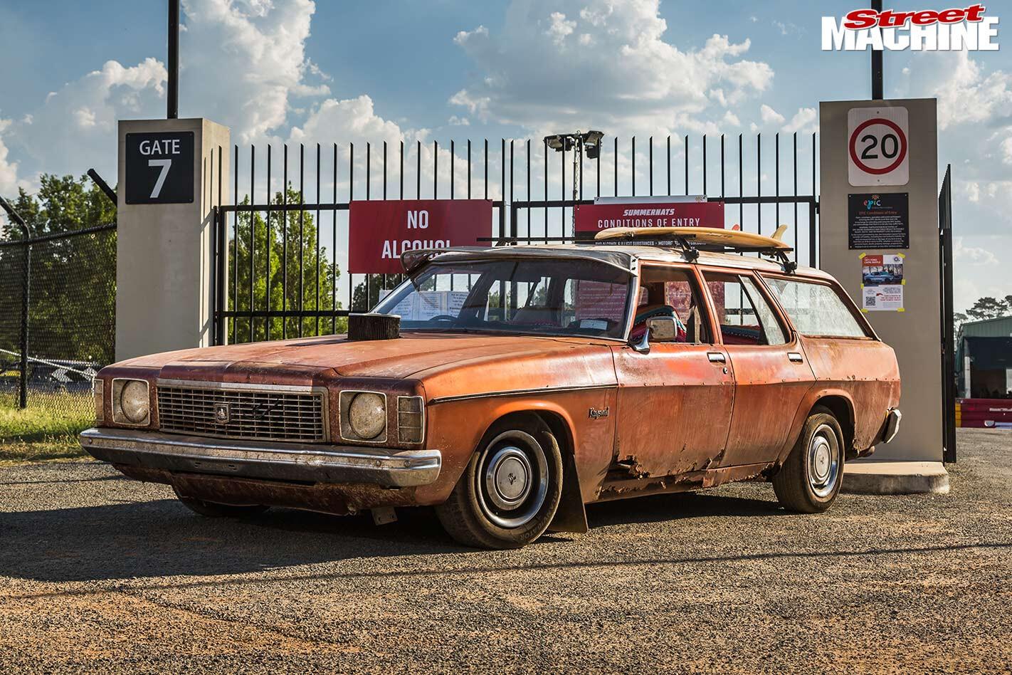Holden HJ wagon