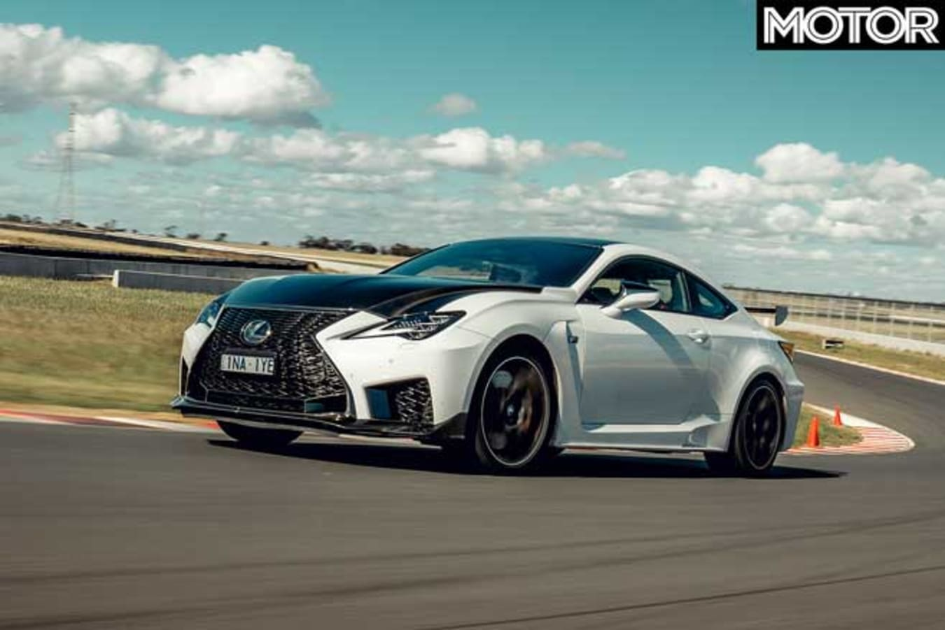 Performance Car Of The Year 2020 Track Test Lexus RC F Track Edition Drive Jpg