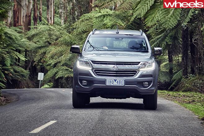 Holden -Trailblazer -SUV-front -driving