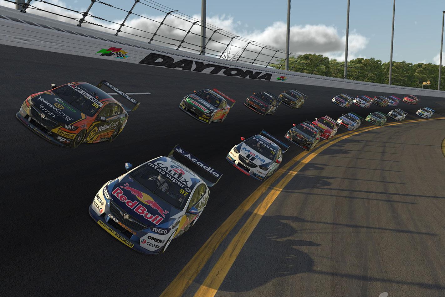 virtual v8 racing