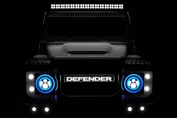 ECD electric classic Land Rover Defender powertrain detailed