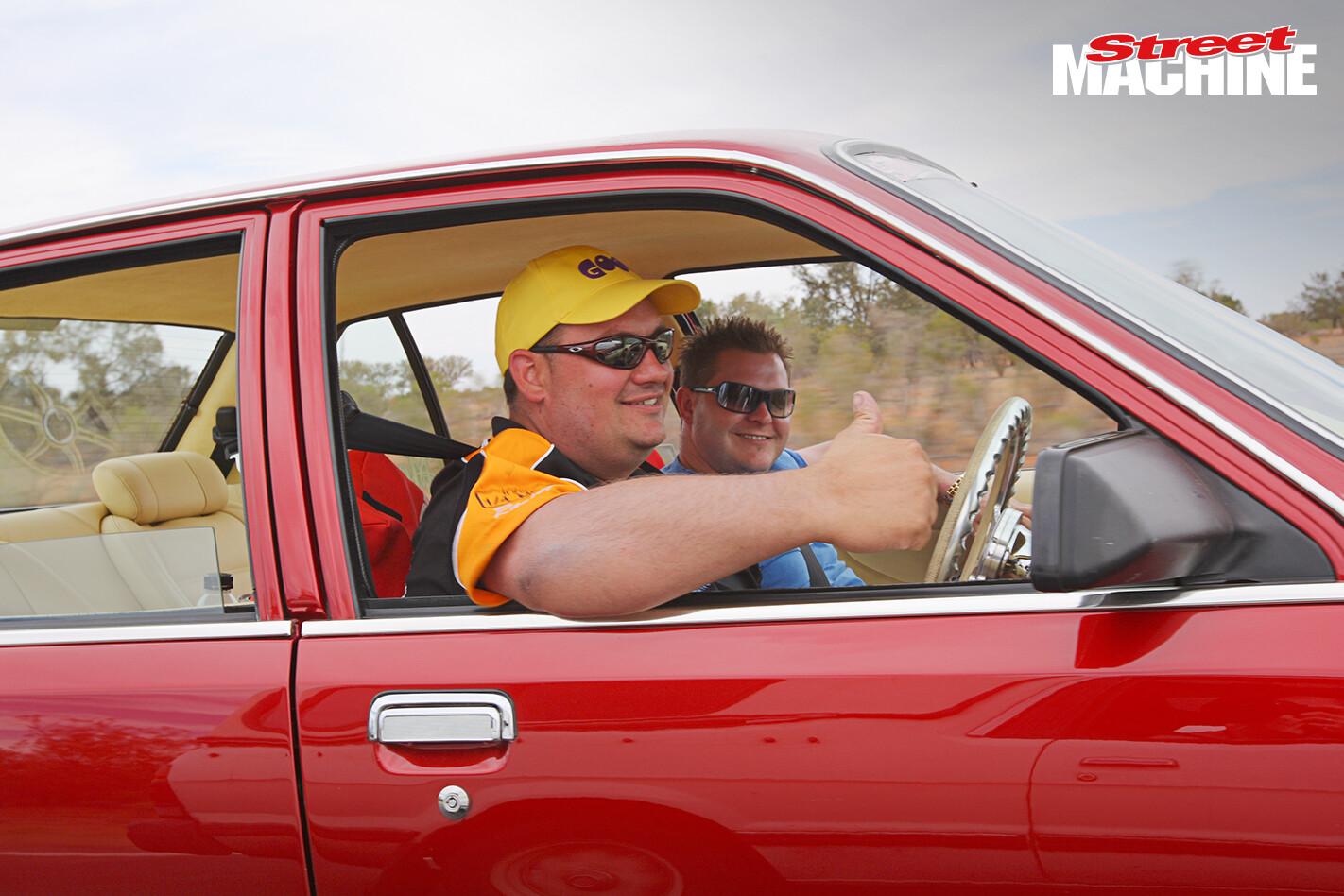 VB Commodore CHUBBY Road Trip 7