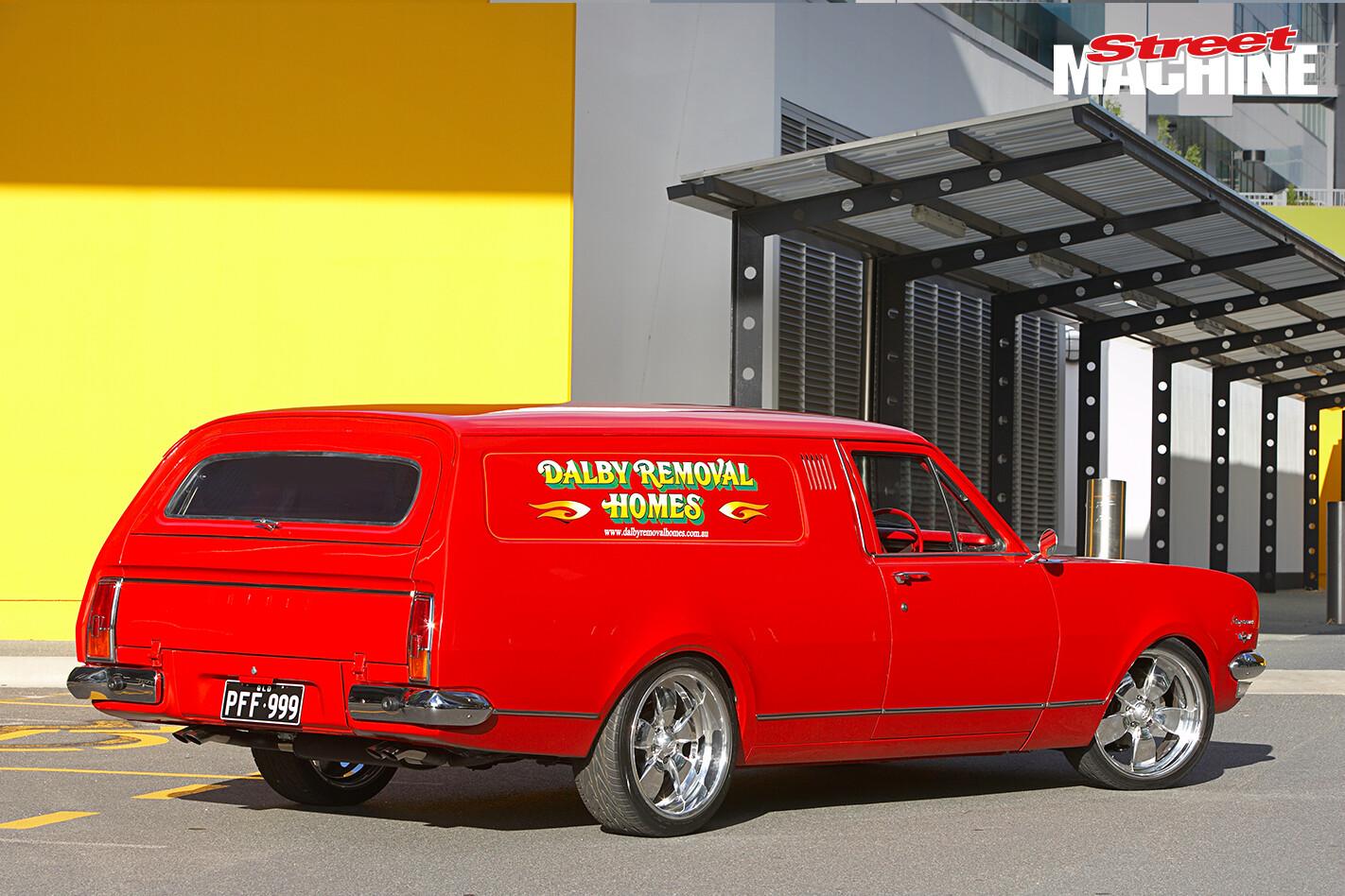 HK Holden Panel Van 8 Nw