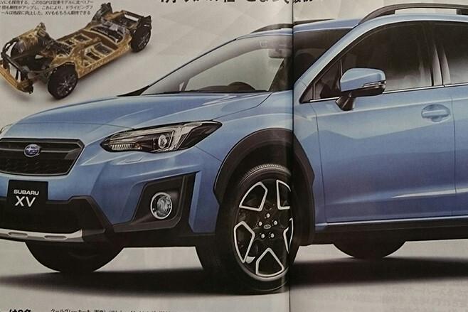 2017 Subaru XV front