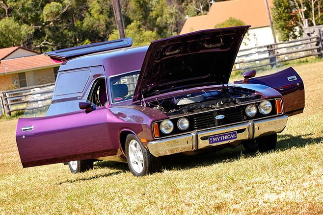 Fred Greenslade's Ford XC van
