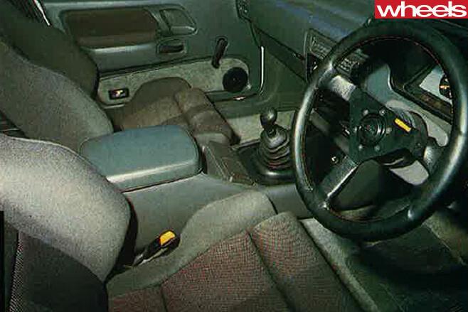Ford -Falcon -XF-SVO-interior