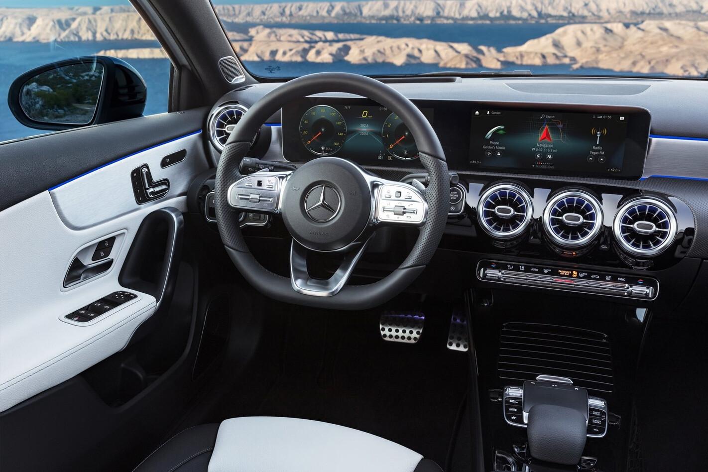 Mercedes A Class Interior Quarter Jpg