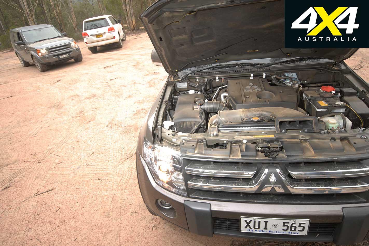 2009 Mitsubishi Pajero Engine Jpg