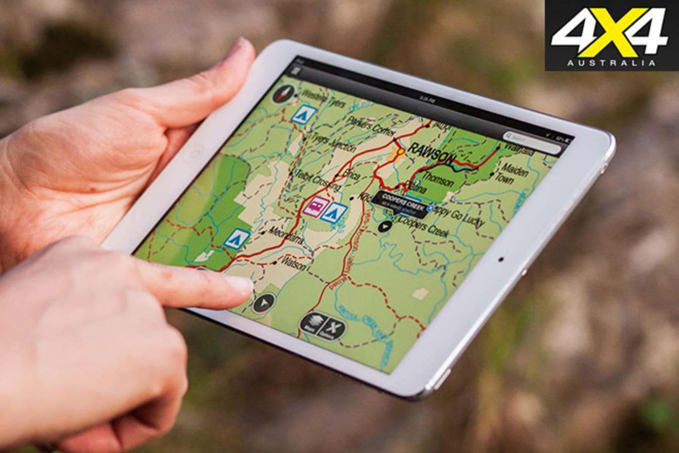 Digital and paper maps are both must-haves.