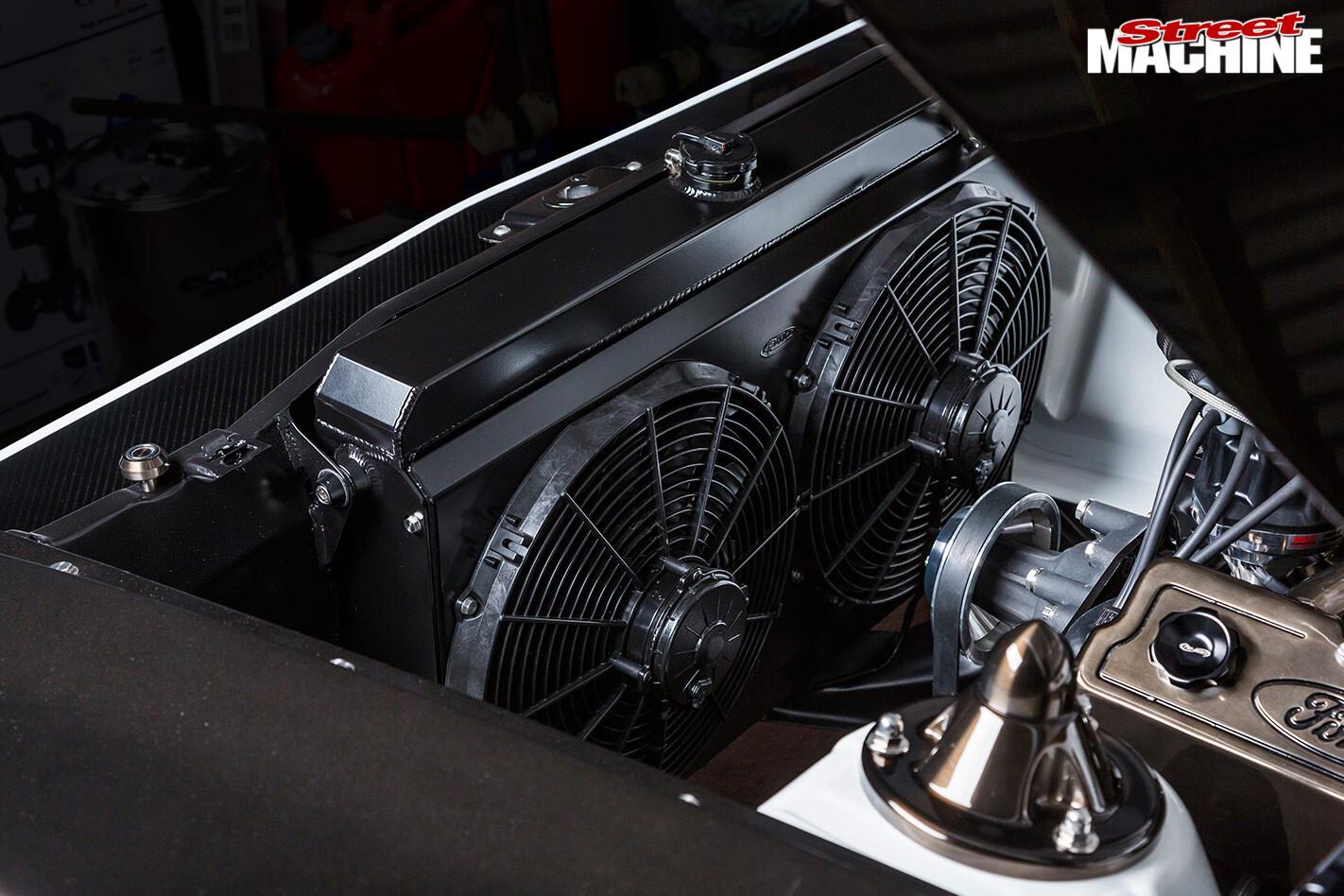 Ford Falcon XB radiator fans