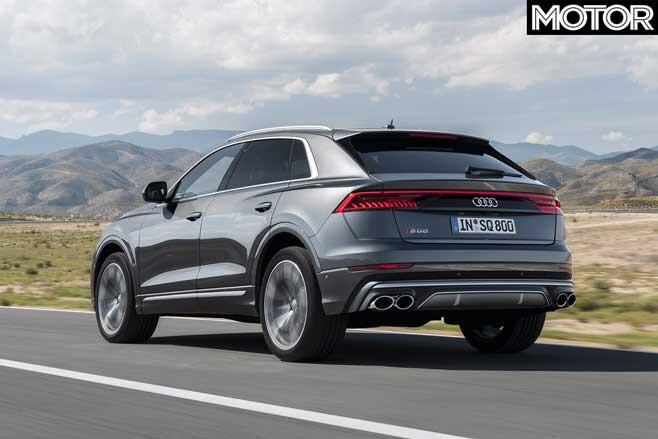 2019 Audi SQ8 performance
