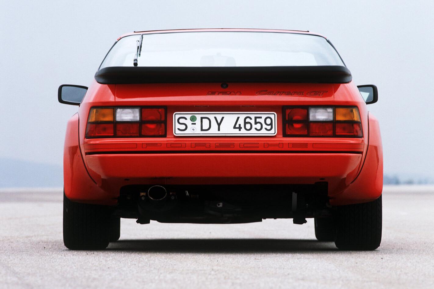 Porsche 924 Carrera GT rear