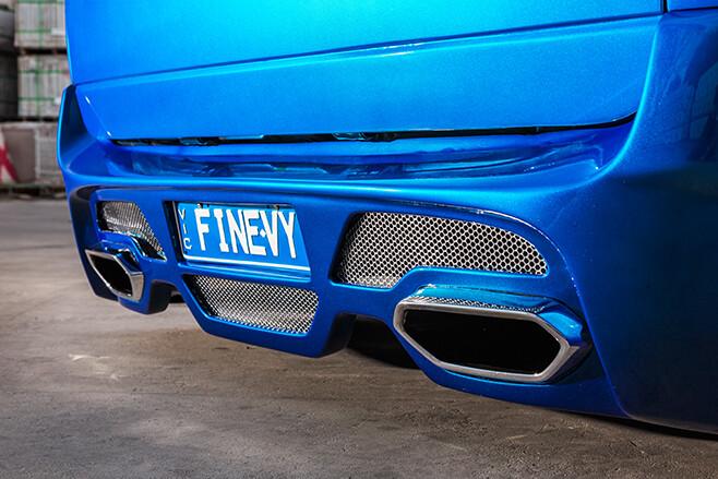 FINEVY Holden ute exhaust