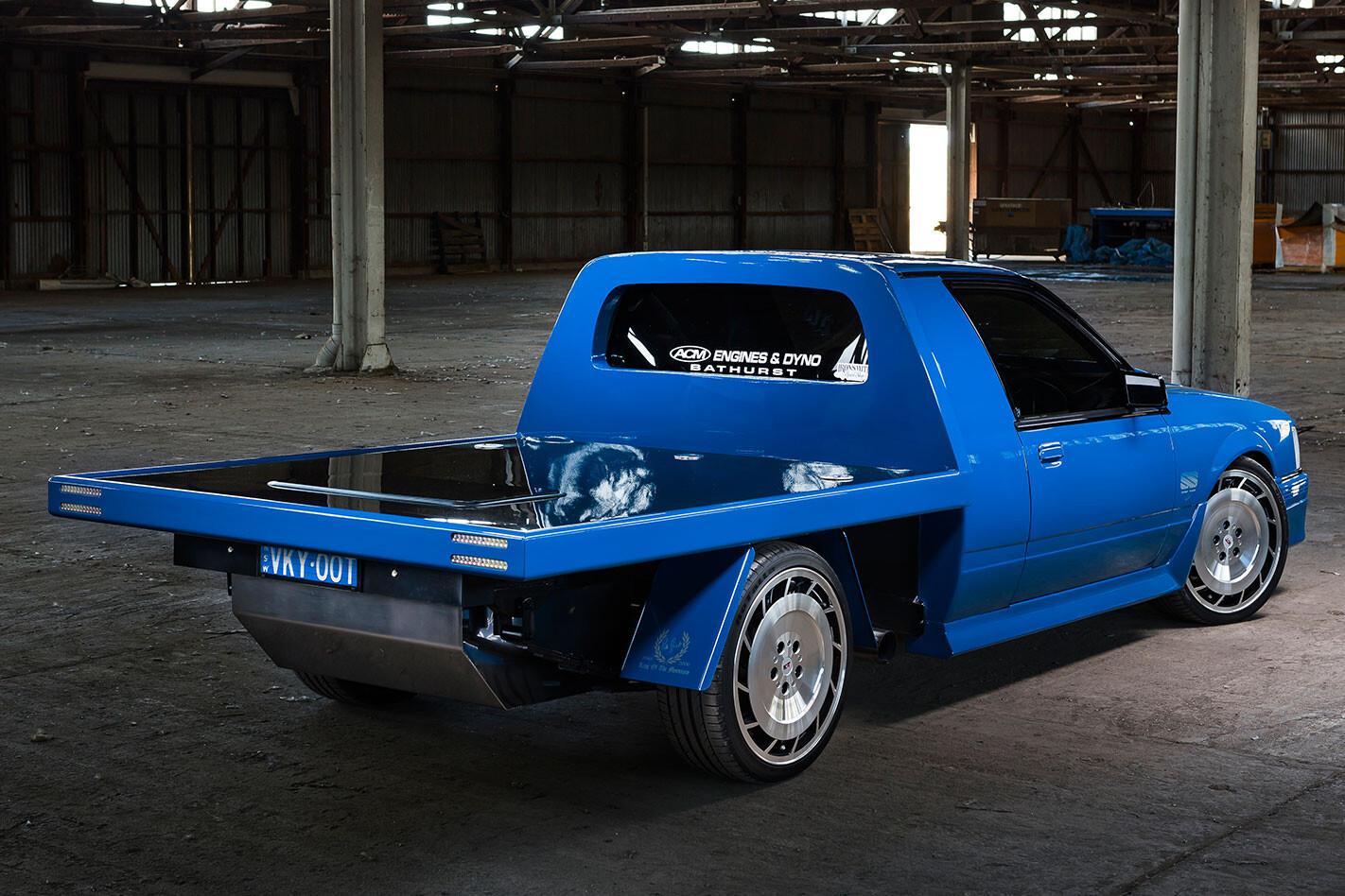 Holden VK one tonner rear