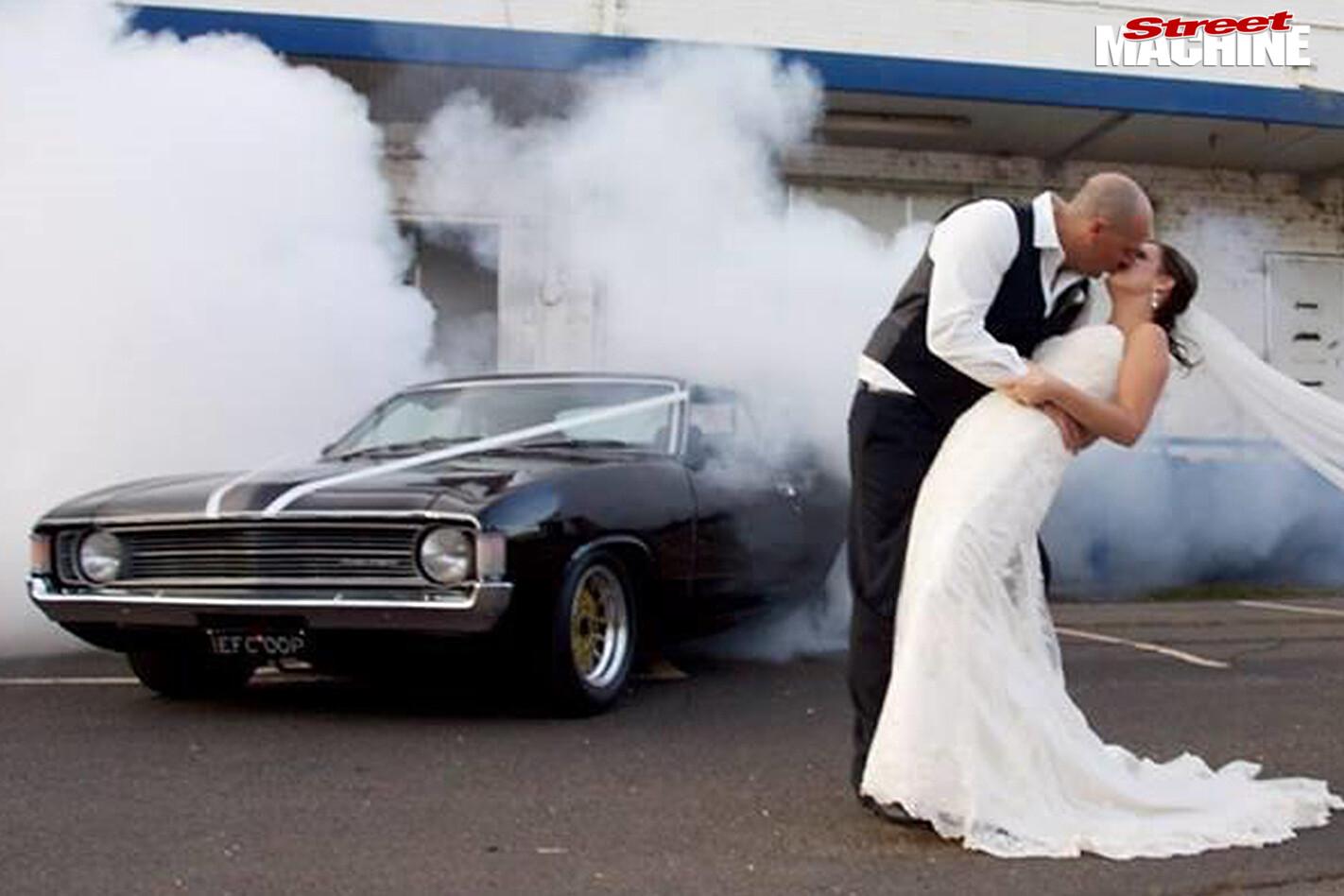 Ford -xa -falcon -wedding -car