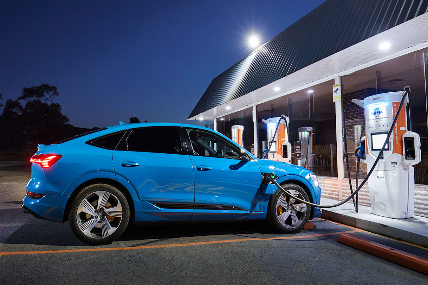 Audi e-tron chargefox