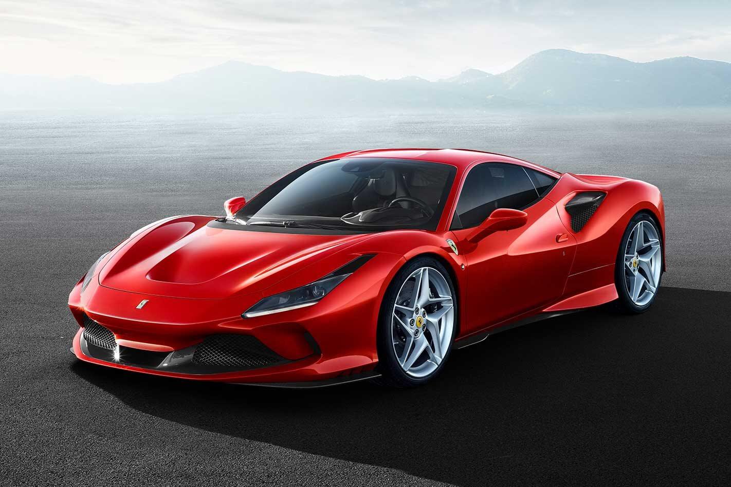 Ferrari F 8 Tributo Reveal Jpg