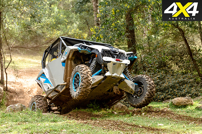 ATV offroad driving