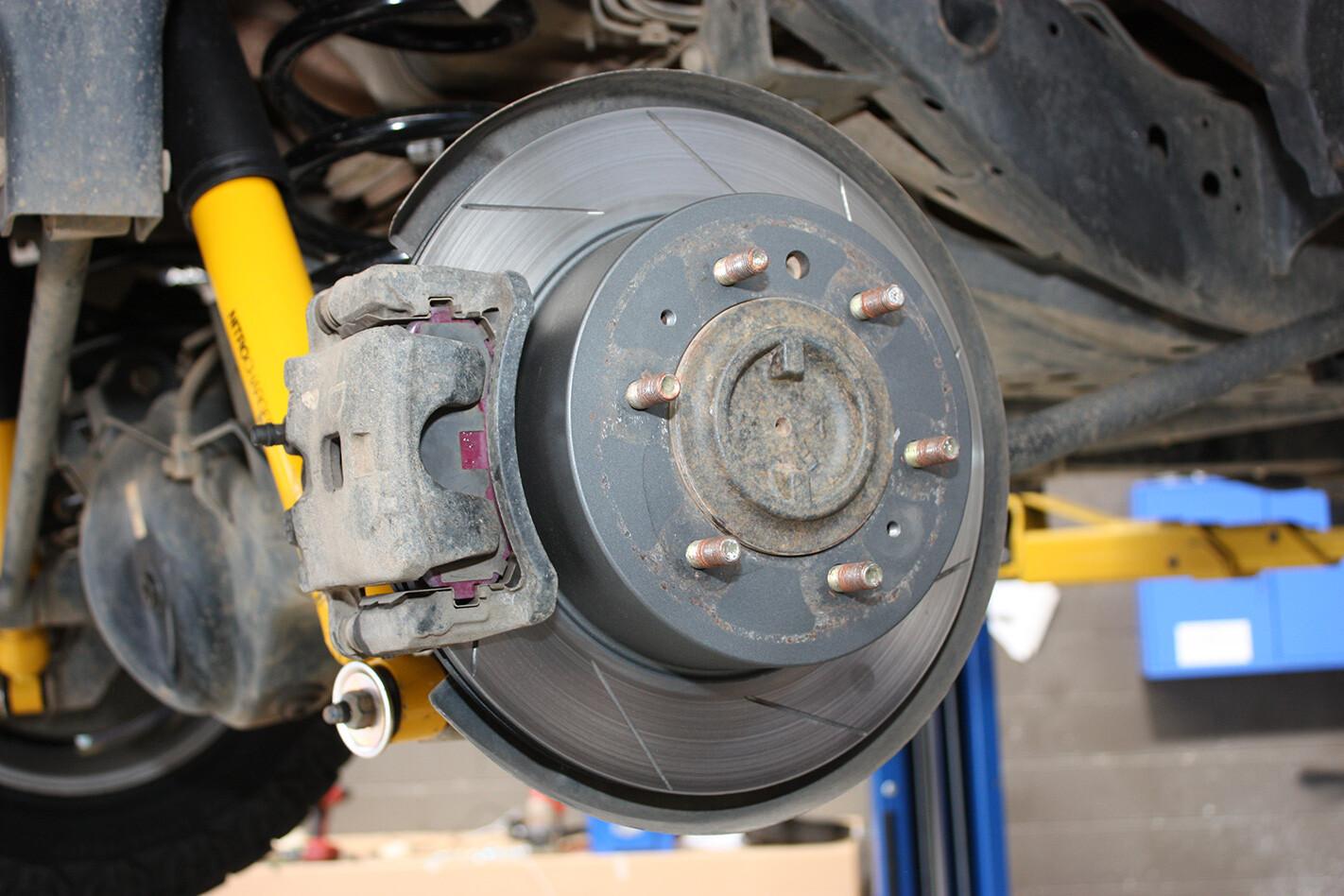 Nissan GU Patrol tourer rotors