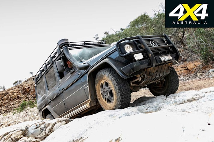 4x4 Shed 2017 Mercedes Benz G300 Professional part 3 feature