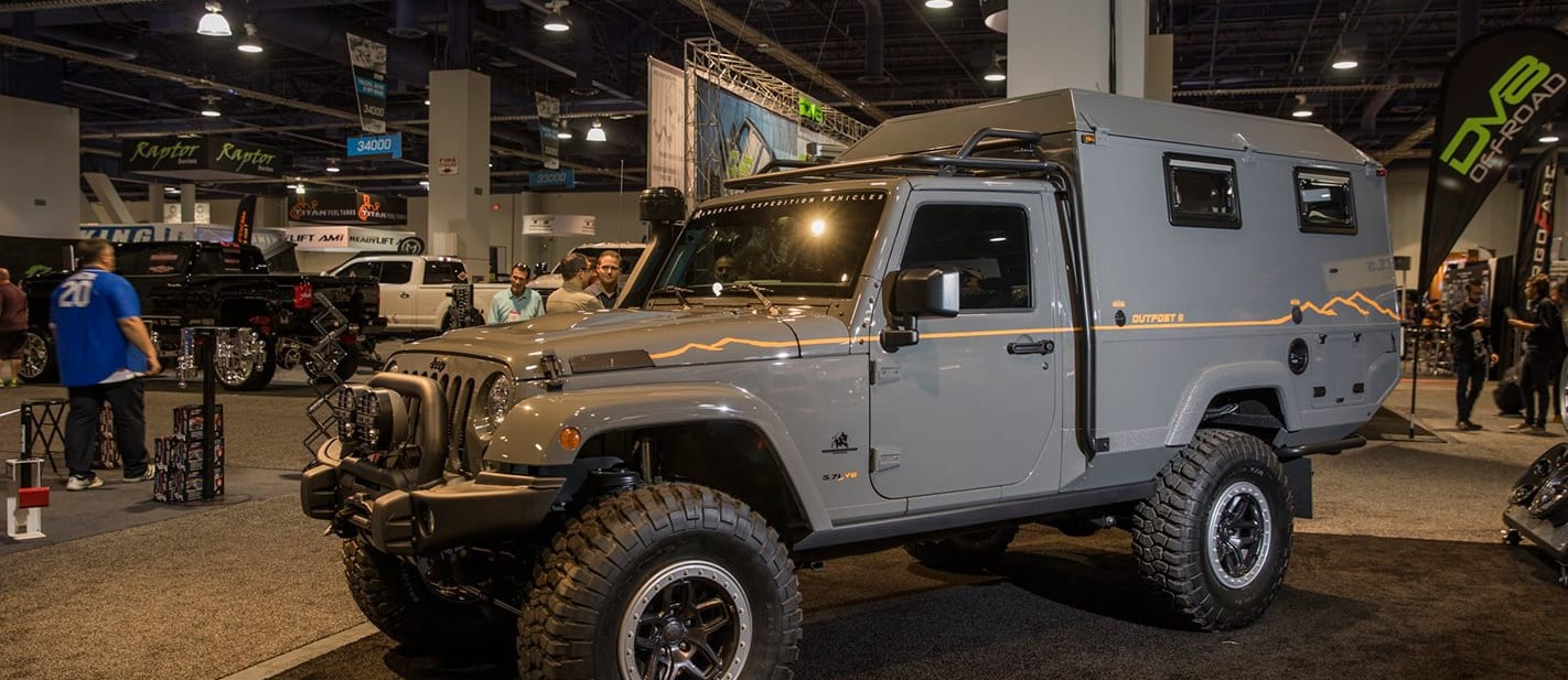 Jeep Custom Outpost vehicle