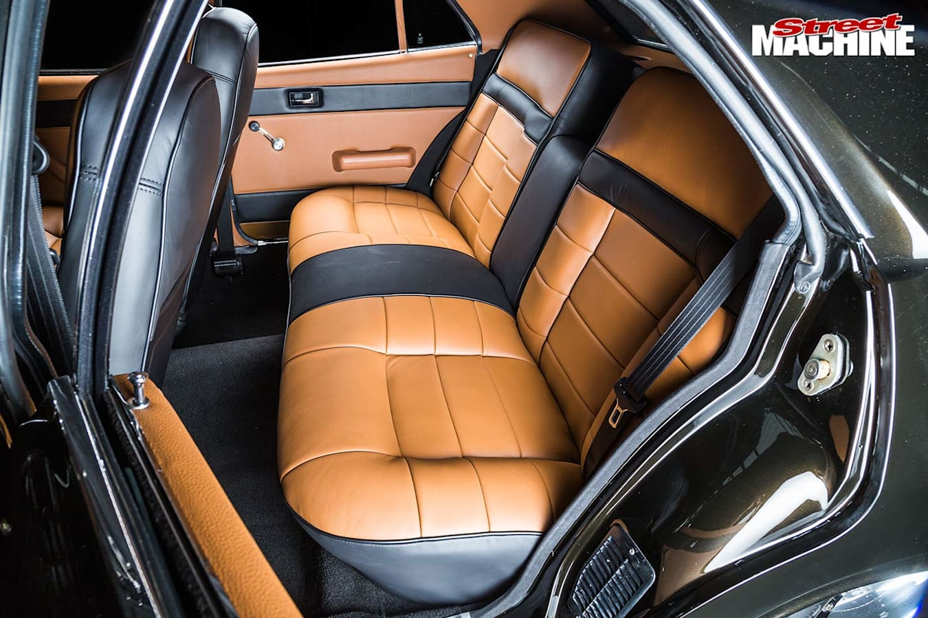 Ford ZF Fairlane rear seats