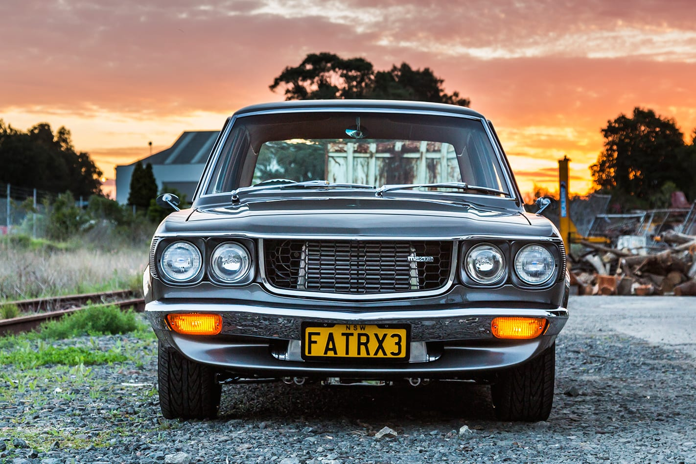 Mazda RX-3 front