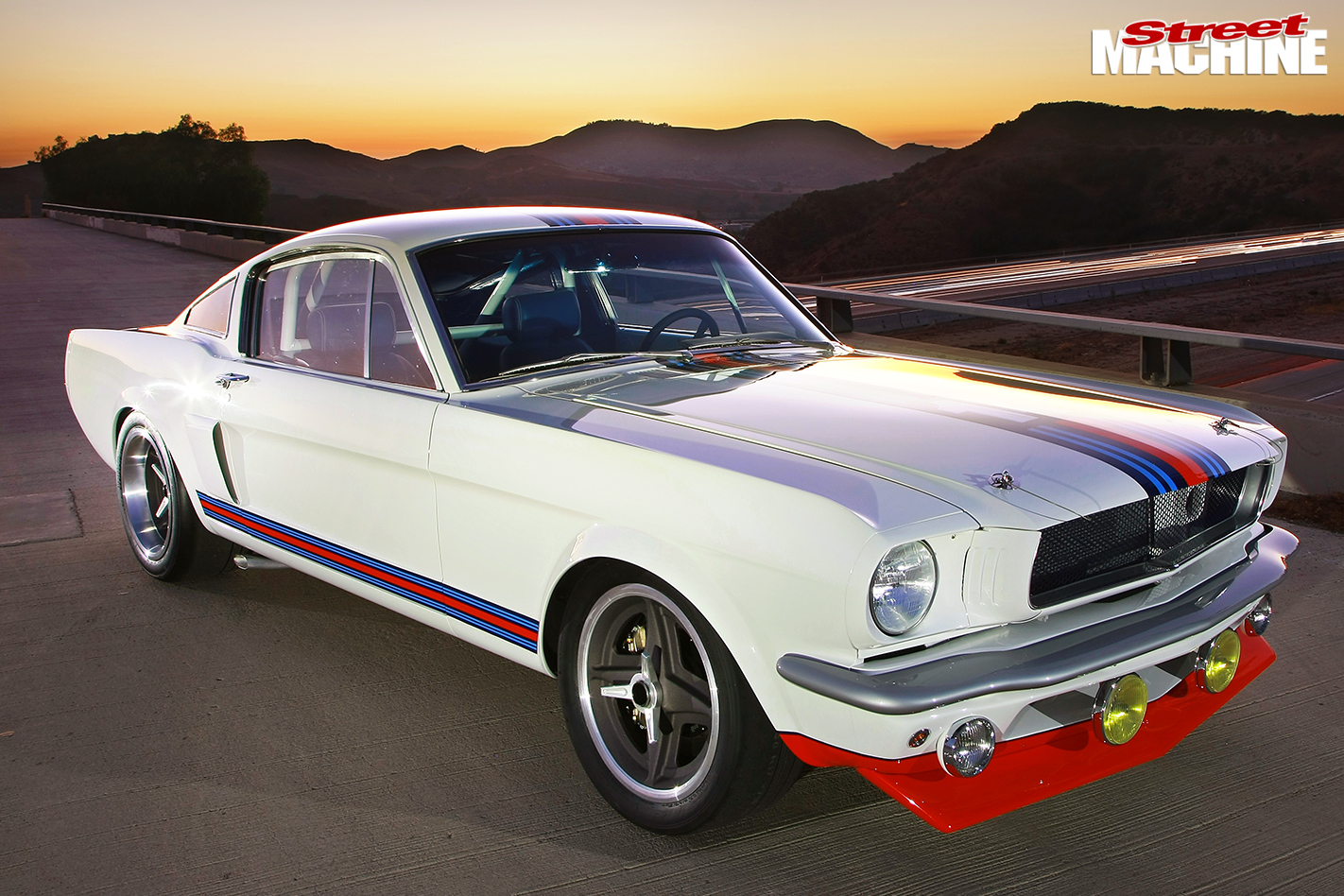 Mustang -front -angle